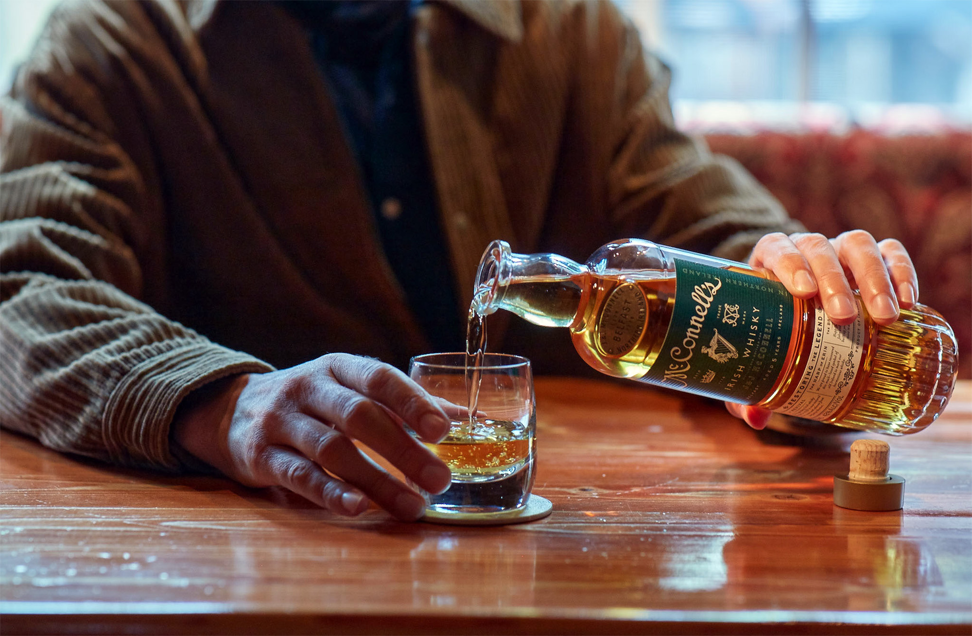 Conecuh Brands is bringing J.&J. McConnell's Irish Whisky Back